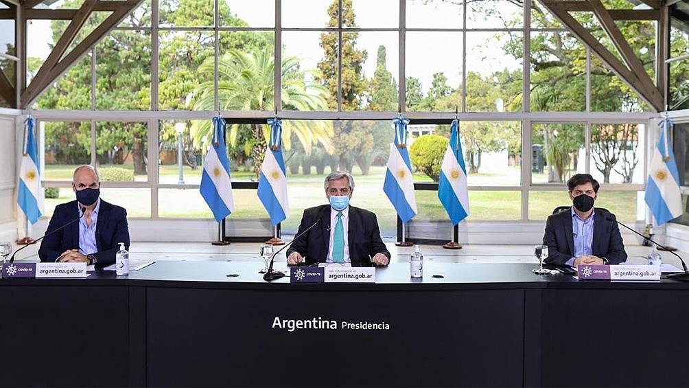 Fernández anuncia hoy cómo continúa el aislamiento social, junto a Kicillof y Rodríguez Larreta