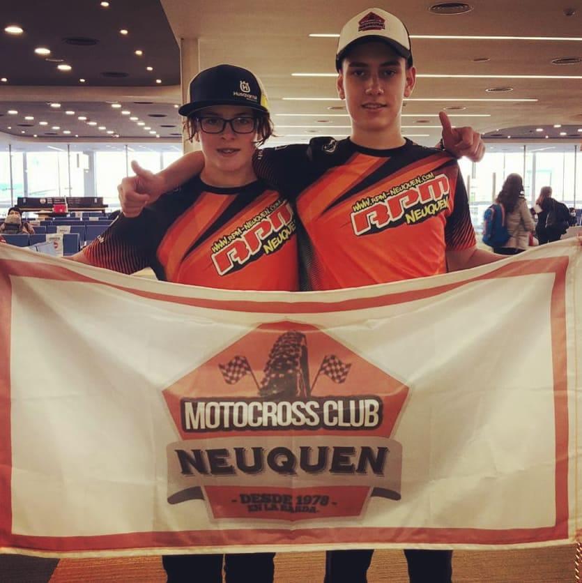 Felipe Quirno Costa y Tiziano Oliva representarán a Neuquén en el MINI OS de USA