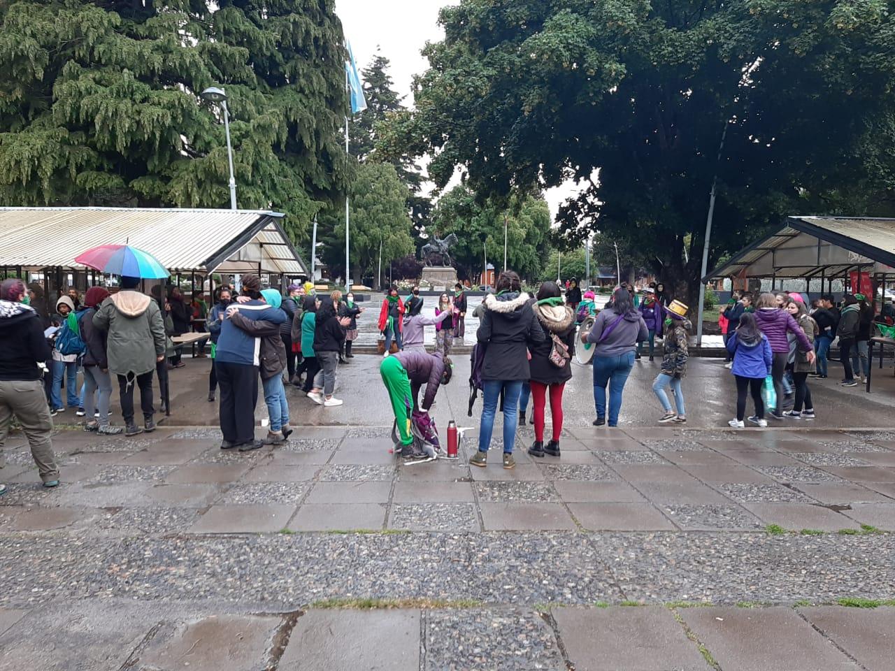 Aborto legal: Concentración y vigilia en la Plaza San Martín