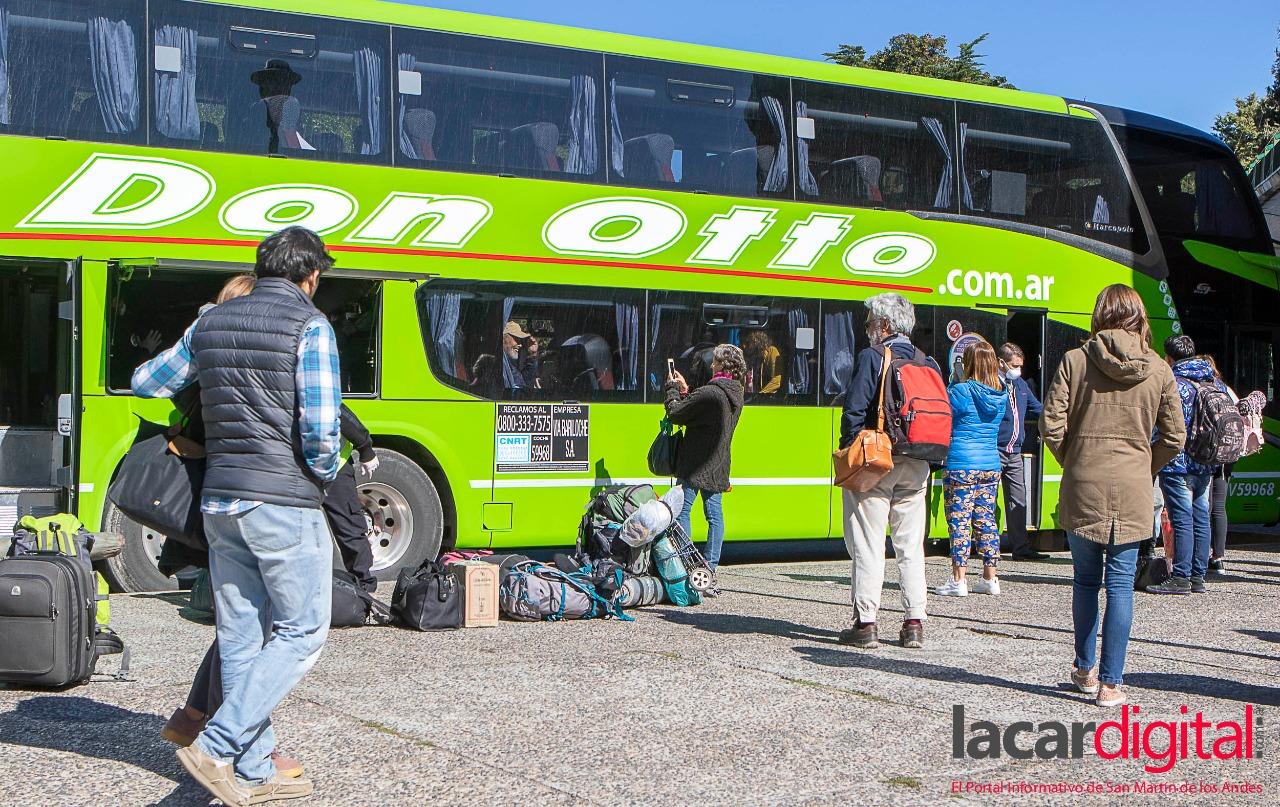 Transporte de larga distancia: Frecuencias, quiénes pueden viajar y protocolos