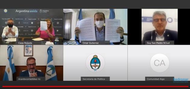 La provincia y Sedronar firmaron un convenio para articular el abordaje de las adicciones