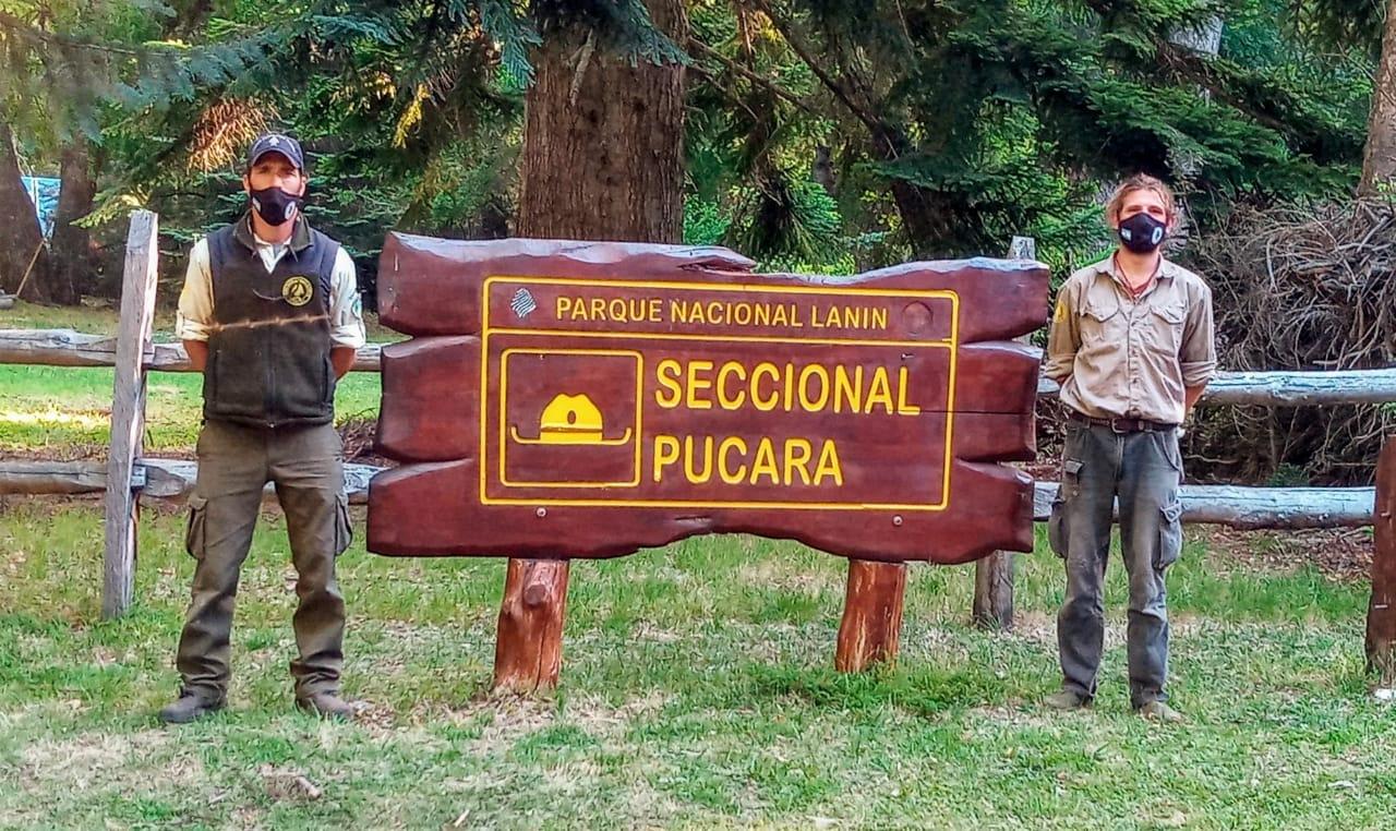 Continua el voluntariado en el Parque Nacional Lanín