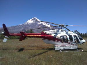 Tercer rescate a una persona en el Volcán Lanín