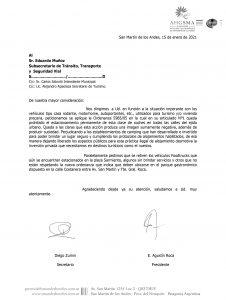 AHGSMA le pidió al municipio que cumpla la Ordenanza vigente y prohíba el estacionamiento permanente de motorhomes