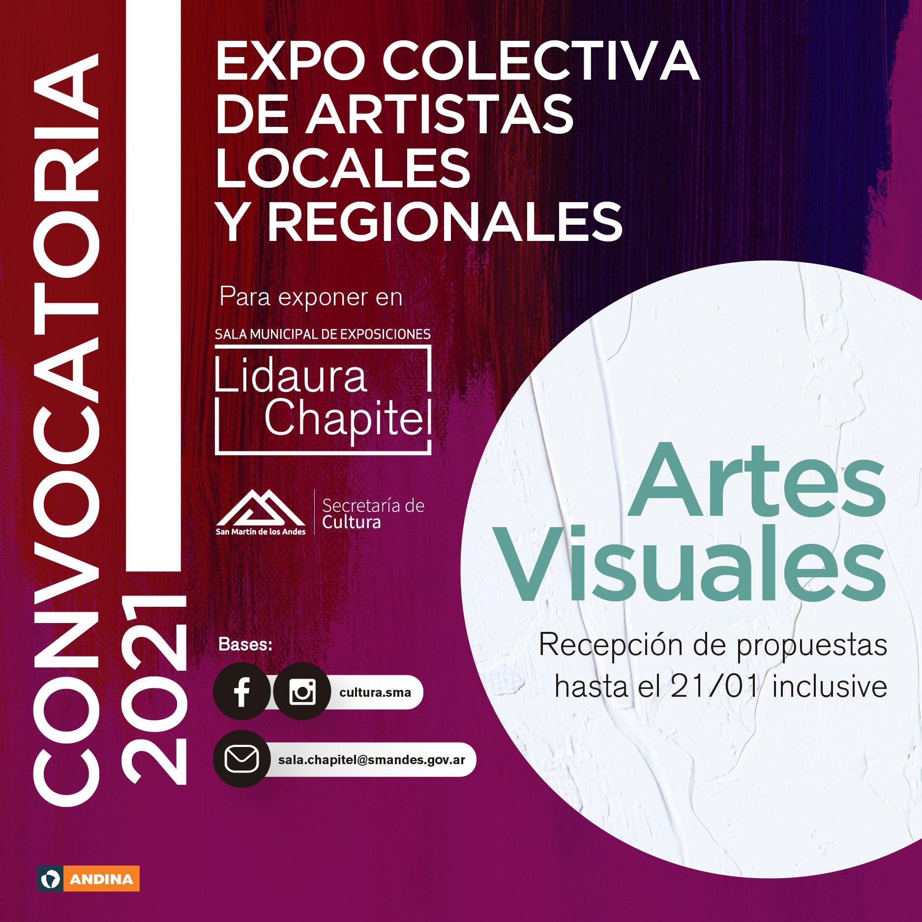 Convocatoria a una Expo Colectiva de artistas locales y regionales