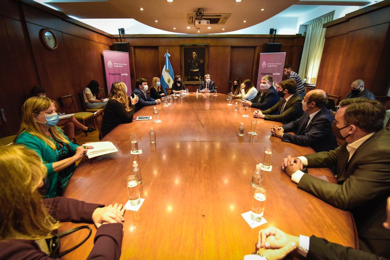 FEHGRA participó hoy de una reunión con Carla Vizzotti y Matías Lammens