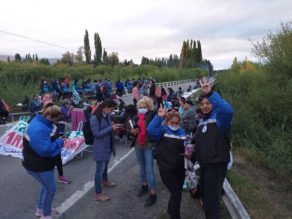 Salud: Continúa el corte de Río Chimehuin