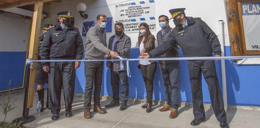 Se inauguró en Villa La Angostura la Comisaría de la Mujer y la ampliación del centro de monitoreo